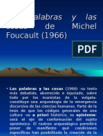 Las Palabras y Las Cosas de Michel Foucault