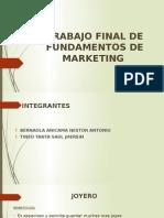 Trabajo Final de Fundamentos de Marketing