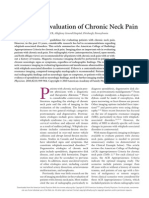 Radiologic Evaluation of Chronic Neck Pain