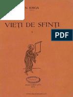 Nicolae Iorga - Vieti de Sfinti