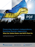 Preserving Ukraine's Independence, Resisting Russian Aggression