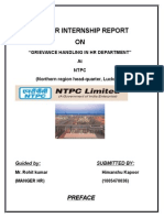 100908469 NTPC Project Report