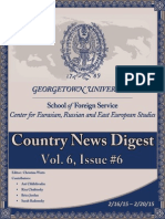 CERES News Digest Vol. 6 Week 6; Feb. 16 - 20