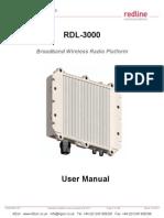 Rdl3000 User Manual