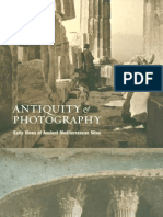 ANTIQUITY Photography Early Views of Ancient Mediterranean Sites by CChristopher Hudson Claire Lyons 2005 Libre
