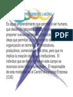 Emprendimiento Laboral- Nuevo Emprendimiento