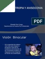 15.- Clase Anisometropia y Aniseiconia