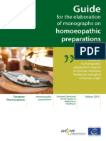 Guide for the Elaboration of MonographsPreparations Edition 2013 (1)