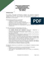 Reglamento PSP IND 090326
