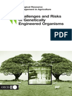 Challenges and Risks of Genetically Engineered Organisms