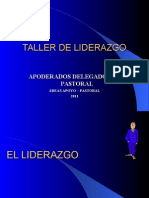 Taller Liderazgo Delegados de Pastoral Apoderados.ppt