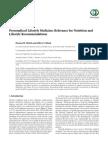 Minich Bland PLM 2013 Relevance Nutrition in Health
