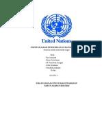 Paper Sejarah Perserikatan Bangsa