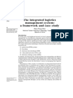 The Integrated Logistics Management System CASE STUDY