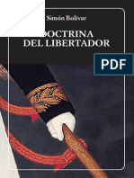 BOLIVAR SIMON. Doctrina Del Libertador