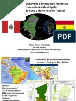 8.LaMancomunidadMunicipalAmazoniaPuno Sr.edwenRamos