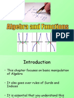 1) C1 Algebra and Functions