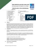 1. UDCH Etica y Deontologia