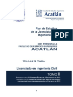 Www.ingenieria.acatlan.unam.Mx Media Archivos Vinculos 2014 05 Tomo II Plan Estudios Ing Civil 06 May 13