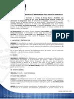 Contrato de Trabajo Sujeto a Modalidad Para Servicios Especificos