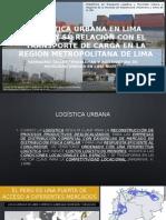 Logística Urbana en Lima Norte
