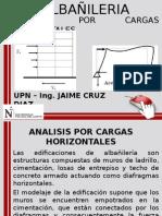 Clase 9 Semana N_05 Analisis Por Cargas Horizontales