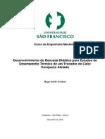 00 - (Modelo) Desenvolvimento de Bancada Didática Para Estudos de Trocador de Calor