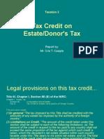Report in Tax