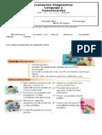 Diagnostico 3º Basico Lenguaje y Comunicacion 2015