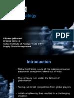 Supply Chain Management - Alpha Electronics - VikramJethwani