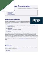 Modularization Statements