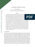 Transfer Principle in Quantum Set Theory