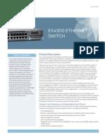 EX 4300 Datasheet