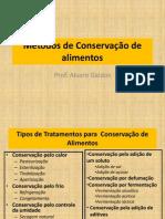 Métodos de Conservação de Alimentos Por Uso de EAM_EAC