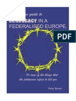 Democracy in a Federalised Europe UPDATED 17.02.15