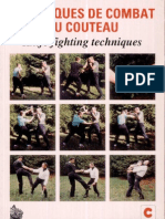 Techniques de Combat Au Couteau (Knife Fighting Techniques) - Raymond H. A Carter 1996