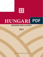 Hungarian Higher Education 2013