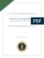 Ogi Progress Report American People