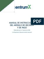 Modulo de Decision y de Pago-centrumx
