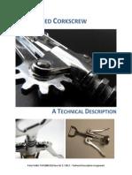 Technical Description Winged Corkscrew
