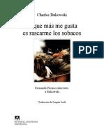 Lo Que Más Me Gusta Es Rascarme Los Sobacos_Charles Bukowski