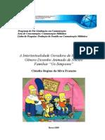 """A Intertextualidade Geradora de Sentido no Gênero Desenho Animado de Núcleo Familiar """"Os Simpsons"""""""
