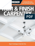 Black & Decker Trim & Finish CA - Editors of Creative Publishing