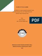 Rinda Cahyana - Panduan Tugas Akhir 2014