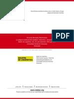 La Categoría Evidencial Del Castellano- Metonimia y Elevación de Sujeto
