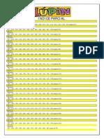 Indice Parcial de la Revista Lúpin