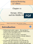 Chapter 10 Europe, Africa and the Middle East