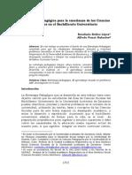 Estrategia Pedagógica Para La Enseñanza de Las c Soc en El Bachillerato Universitario