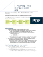 MNO Chapter 05 – Planning – the Foundation of Successful Management