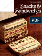 Snacks & Sandwiches - The Good Cook Series